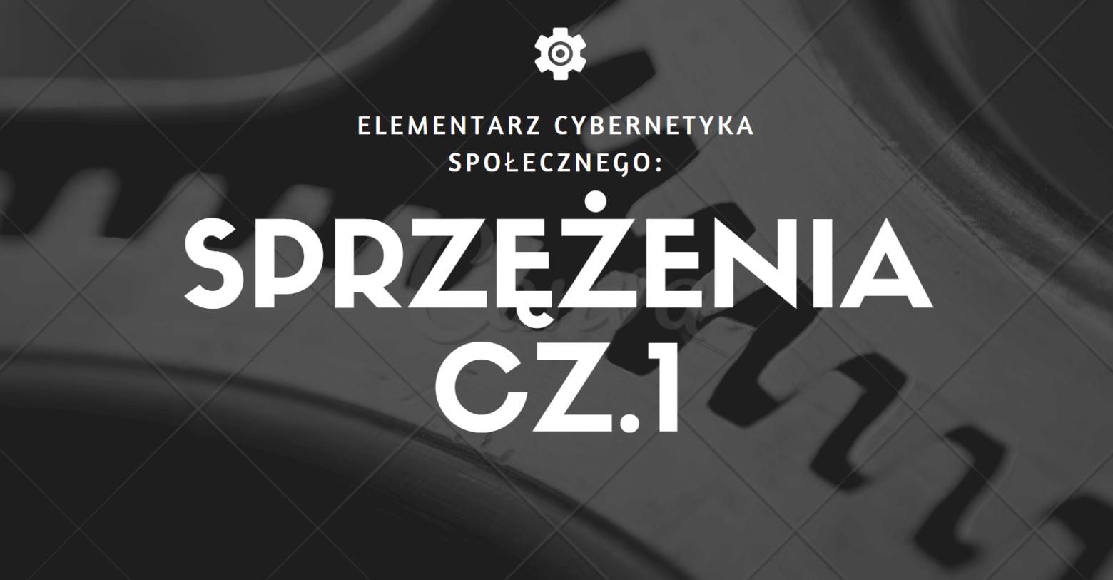 Elementarz cybernetyka społecznego: sprzężenia cz. 1